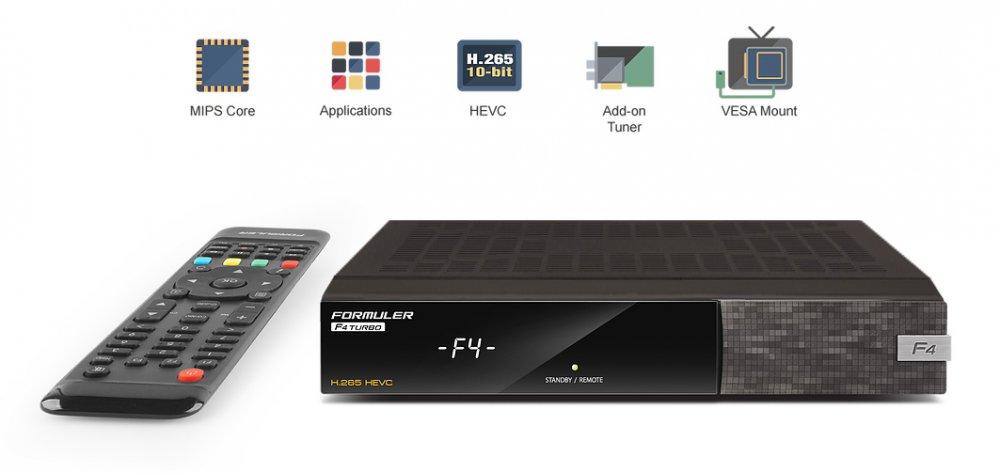 Formuler F4 TURBO Full HD HEVC H265 Satellite Receiver Enigma 2 1 X DVB S2 Tuner