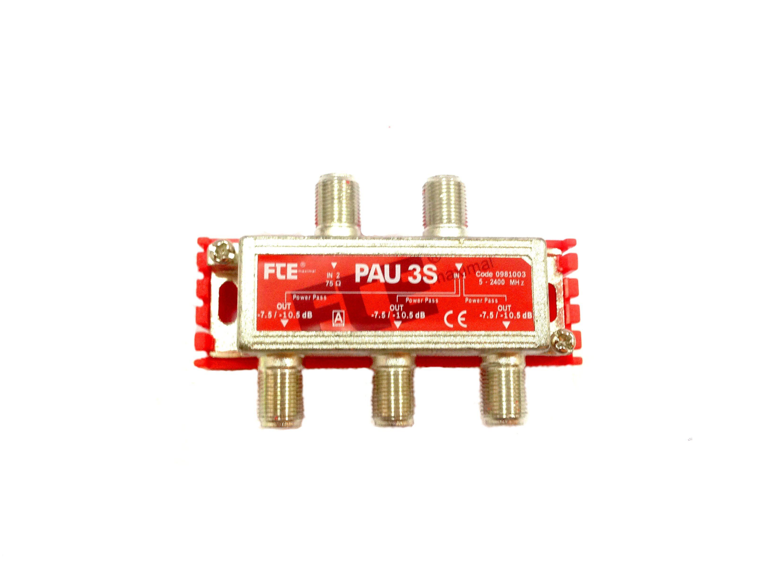FTE TV/SAT combiner with PAU3S hub, 5-2400 MHz