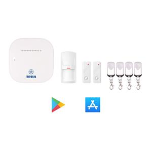 TESLA SecureQ i7 - GSM smart alarm systém